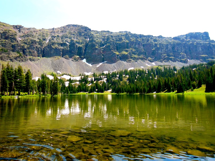 emerald lake, bozeman, hikes if you don't have low back pain