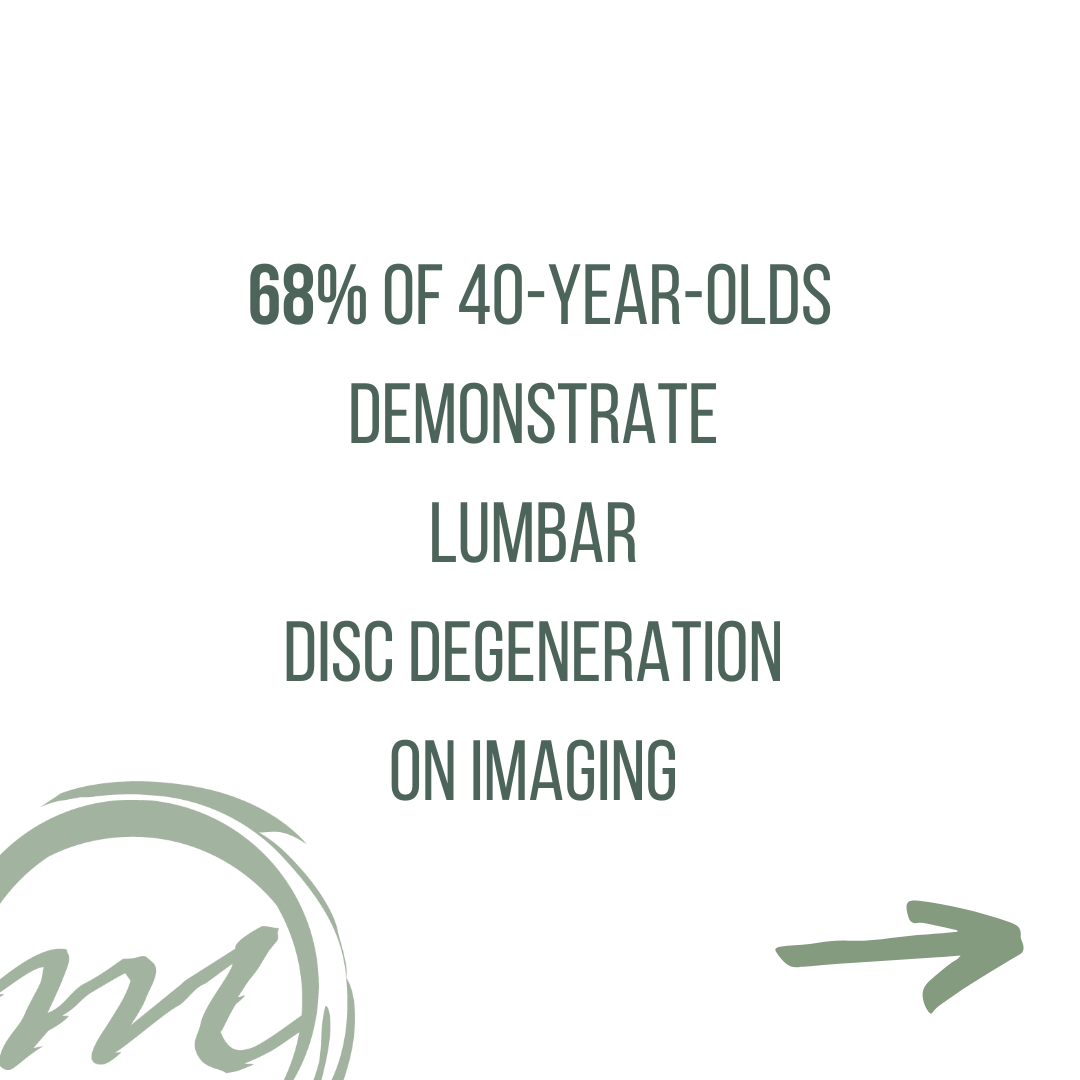 Disc degeneration, disc bulge, back pain, physical therapy bozeman